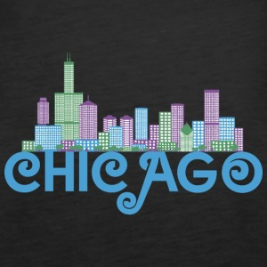 Chicago Skyline Tops - Women's Premium Tank Top