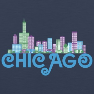 Chicago Skyline Sports wear - Men's Premium Tank Top