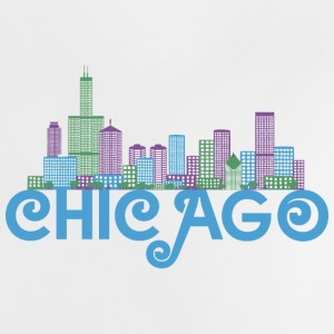 Chicago Skyline Camisetas Bebés - Camiseta bebé