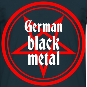 German Black Metal - Männer T-Shirt