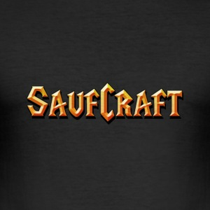 saufcraft T-Shirts - Männer Slim Fit T-Shirt