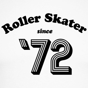 Roller Skater 72 - Men - Men's Long Sleeve Baseball T-Shirt