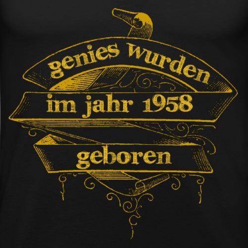 Genies wurden im Jahr 1958 geboren