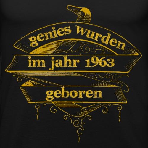 Genies wurden im Jahr 1963 geboren