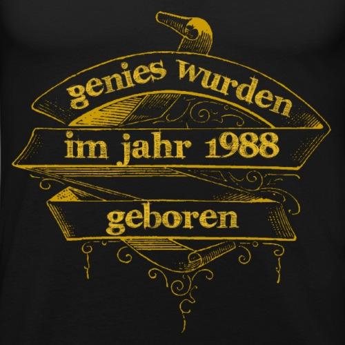 Genies wurden im Jahr 1988 geboren