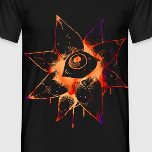 Bloody Flower Eye - Männer T-Shirt