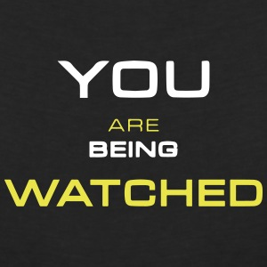Watching you - T-shirt col V Femme