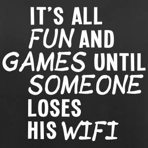 it's all fun and games until... wifi ii 1c Ropa deportiva - Camiseta de tirantes transpirable mujer
