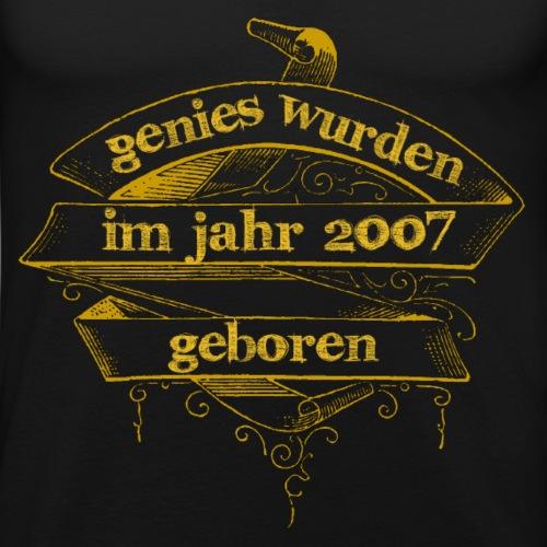 Genies wurden im Jahr 2007 geboren