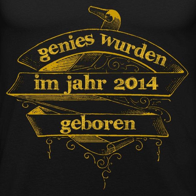 Genies wurden im Jahr 2014 geboren