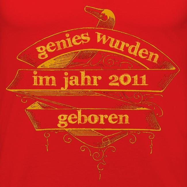 Genies wurden im Jahr 2011 geboren