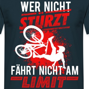 Mountainbike MTB Downhill - Männer T-Shirt