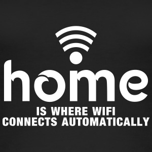 home is where the wifi connects automatically Tops - Women's Organic Tank Top