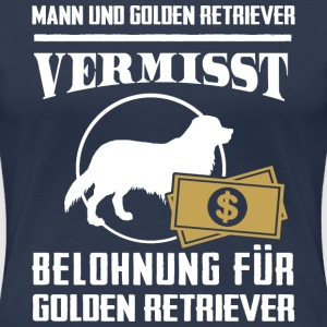 Vermisst Golden Retriever T-Shirts - Frauen Premium T-Shirt