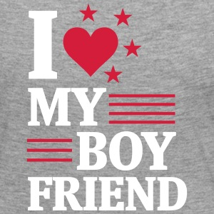 I LOVE MY FRIEND! Long Sleeve Shirts - Women's Premium Longsleeve Shirt