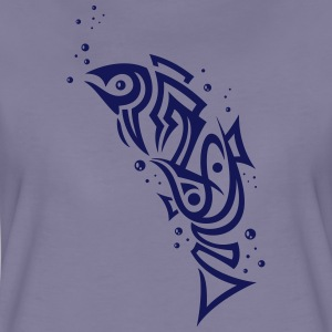 Tribal Fisch, angeln, Aquaristik, fishing T-Shirts - Women's Premium T-Shirt