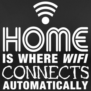 home is where the wifi connects automatically II2c Sportbekleidung - Frauen T-Shirt atmungsaktiv