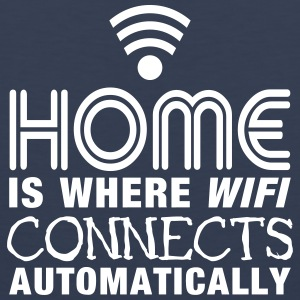 home is where the wifi connects automatically II2c Ropa deportiva - Tank top premium hombre