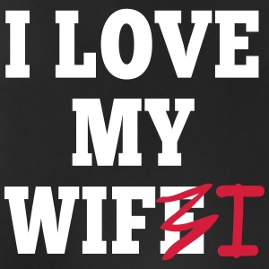 I love my wife I / I love my wifi I 2c Sports wear - Men's Breathable Tank Top