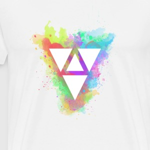 Triangle fun - T-shirt Premium Homme