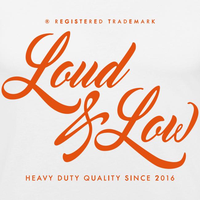 Miesten tyköistuva Loud & Low t-paita