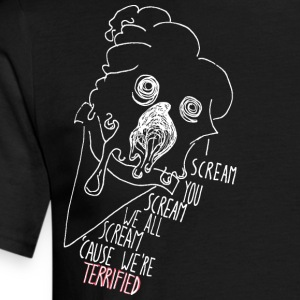 I scream, You Scream (Inverted) T-Shirts - Men's T-Shirt