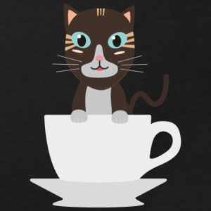 Cat in Cup Shirts - Kids' Organic T-shirt