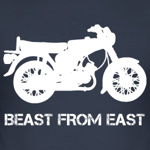 Beast From East S51 S50 T-Shirts - Männer Slim Fit T-Shirt