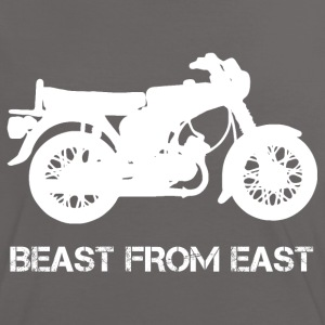 Beast From East S51 S50 T-Shirts - Frauen Kontrast-T-Shirt