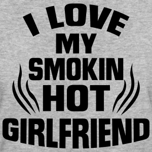 I LOVE MY HOT GIRLFRIEND! T-Shirts - Women's Organic T-shirt