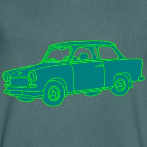 Voiture Trabant 2 Tee shirts - T-shirt Homme col V