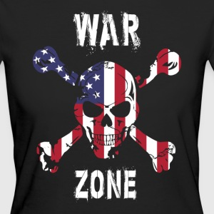 Amerika - War Zone T-Shirts - Frauen Bio-T-Shirt