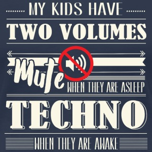 Two Volumes Techno T-Shirts - Frauen Premium T-Shirt