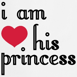 I AM HIS PRINCESS  Aprons - Cooking Apron