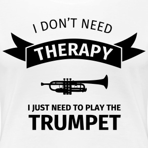 I don't need therapy I just need to play the trump T-shirts - Premium-T-shirt dam