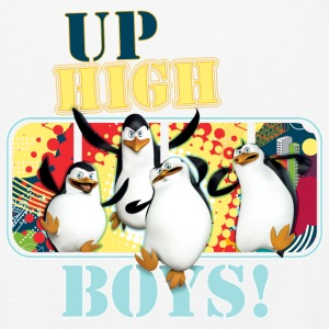 Pinguine 'Up high Boys' - Kinder Premium Langarmshirt