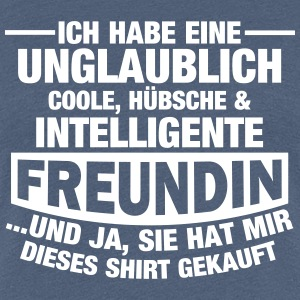 Coole, hübsche & intelligente Freundin T-Shirts - Frauen Premium T-Shirt
