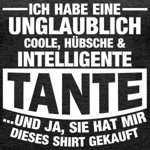 Coole, hübsche & intelligente Tante Tops - Frauen Premium Tank Top
