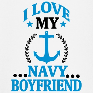 I LOVE MY FRIEND WHO WORKS IN THE NAVY! Baby Long Sleeve Shirts - Baby Long Sleeve T-Shirt