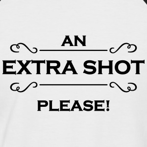 An extra shot please Tee shirts - T-shirt baseball manches courtes Homme