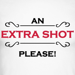 An extra shot please Long sleeve shirts - Men's Long Sleeve Baseball T-Shirt
