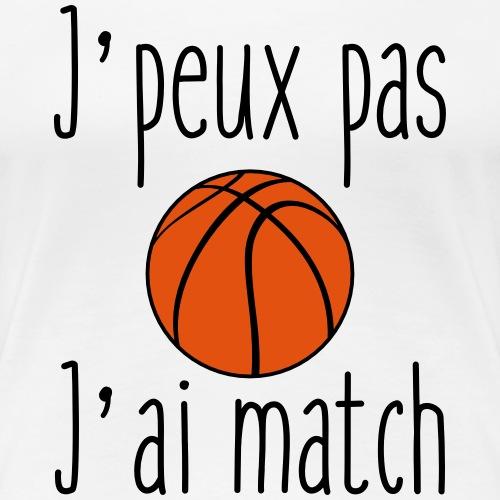 J'peux pas j'ai match - basket