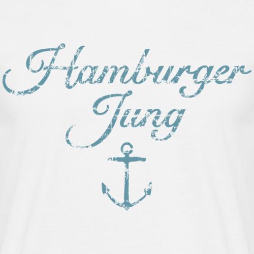 Hamburger Jung (Vintage Hellblau) Hamburg Anker