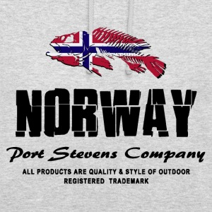 Norway Fish Flag Logo Pullover & Hoodies - Unisex Hoodie