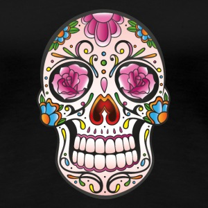 Mexican Sugar Skull, day of the dead T-Shirts - Frauen Premium T-Shirt