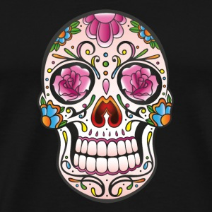 Mexican Sugar Skull, day of the dead T-Shirts - Männer Premium T-Shirt