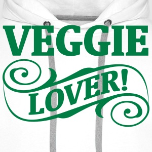 VEGGIE LOVERS! Hoodies & Sweatshirts - Men's Premium Hoodie