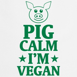 PIG STAY COOL - I'M VEGAN!  Aprons - Cooking Apron