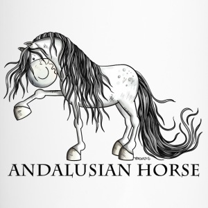Andalusian Horse Bouteilles et Tasses - Mug thermos