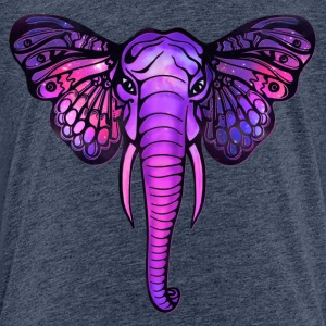Space elephant, butterfly ears, galaxy, africa, Shirts - Kids' Premium T-Shirt